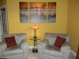 <h5>Sunset Serenade 36x60 Triptych</h5>