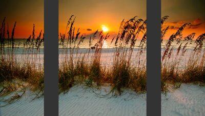 Sunset Serenade Triptych