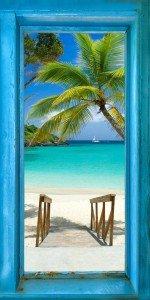 Window To The World Panoramic Palm Path Big