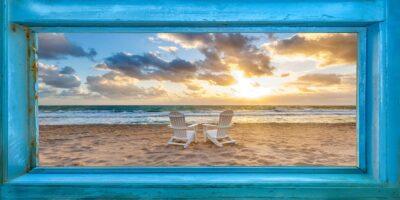 Window To The World Panoramic White Chairs Big